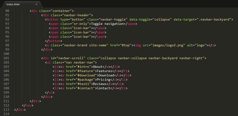 html для создания сайта